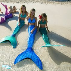 Fishing for the classic mermaid look in cool shades of green? Shop Fin Fun's Celtic Green swimmable mermaid tail in sizes for kids and adults now! Blue Mermaid Tail, Mermaid Tails For Kids, Ariel The Little Mermaid, Mermaid Pose, Mermaid Pictures, Mermaid Diy, Pretty Mermaids, Real Mermaids, Mardi Gras