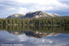 Mirror Lake, High Uintahs, Wasatch National Forest, near Kamas, #Utah