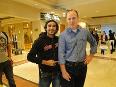 With Greg Graffin @ Bad Religion Southamerican Tour 2011