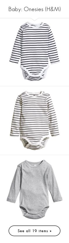 """""""Baby: Onesies (H&M)"""" by trhk ❤ liked on Polyvore featuring intimates, shapewear, baby boy, baby, noah, baby clothes, baby girl, kids, girls and snap bodysuit"""