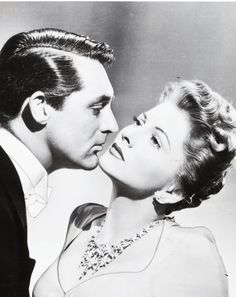 """cary grant & joan fontaine...""""Suspicion"""" by Alfred Hitchcock"""