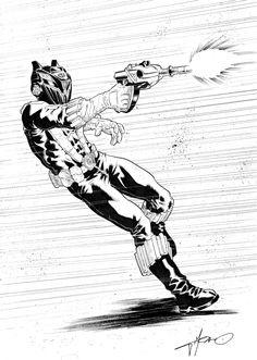 Black Power Ranger commission