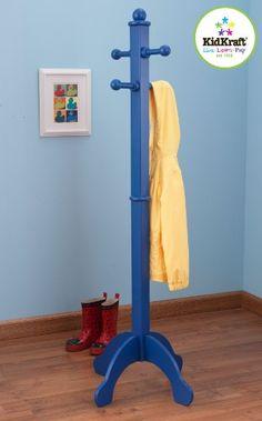 KidKraft Deluxe Clothes Pole, Blue