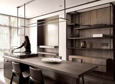 Space Floating Line-Living Space-Interior Design