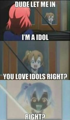 Love Live! School Idol Project anime meme http://www.modishgeek.com/love-live-sunrise-anime-bluray-review/