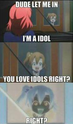 Love Live! School Idol Project anime meme http://www.modishgeek.com/love-live-sunrise-anime-bluray-review/