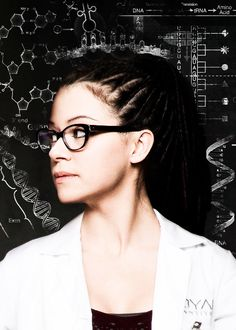 Orphan Black: Cosima Niehaus played by Tatiana Maslany
