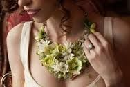 necklace made of live succulents - Google Search