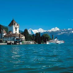 Thunersee, Schweiz.