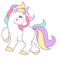 Imágenes de unicornios para descargar listas para imprimir y colorear Unicorn Painting, Unicorn Drawing, Unicorn Art, Cute Unicorn, Party Unicorn, Unicorn Birthday Parties, Birthday Party Decorations, Unicorn Pictures, Unicorn Pics
