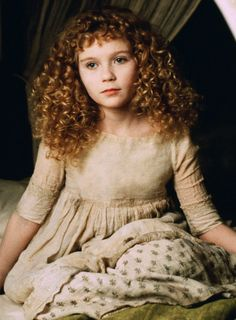 Kirsten Dunst as Claudia in Interview With The Vampire: The Vampire Chronicles (1994).