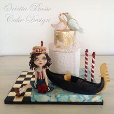 Venezia for Italian Sugar Dream Collaboration - Cake by Orietta Basso