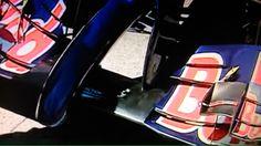 Alerón delantero del equipo Toro Rosso en GP Canada. Car, Sports, World Championship, Hs Sports, Automobile, Sport, Autos, Cars