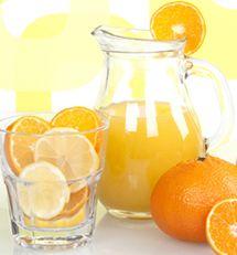 Zesty Orange Lemonade