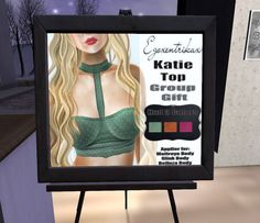 Free Second Life Katie Tricolor Top The Katie top is a free group gift and includes HUDs for slink, belleza, maitreya and omega. Group: Free to...