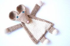 Mouse Ragdoll crochet amigurumi pattern by A la Sascha