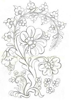 Excellent Screen dibujos para bordar Embroidery Designs Tips You are welcome to hand adornments! Embroidery can be quite a stress-free inventive electric outlet Embroidery Designs, Crewel Embroidery, Ribbon Embroidery, Machine Embroidery, Mexican Embroidery, Bordado Popular, Turkish Design, Coloring Book Pages, Line Art