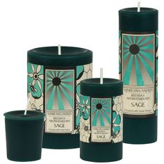 Beeswax Aromatherapy Pillars and Votives Beeswax Candles, Birthday List, Aromatherapy, Sage, Essential Oils, Conditioner, Salvia, Pure Products, 100 Pure