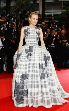 Cannes 2012 - Diane Kruger in Christian Dior Couture Spring 2012 <3