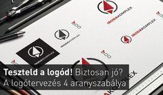 Teszteld a logód! Biztosan jó? – A logótervezés 4 aranyszabálya #logo #arculat #corporate identity #cegarculat #infoartnet #teszt #test #marketing #graphics #vectors