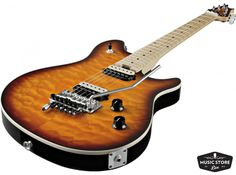 With a classy tobacco sunburst finish, this Wolfgang Special has a lightweight basswood body and a maple neck. The Custom-Designed EVH pickups are hot and incredibly responsive to playing dynamics, perfect for searing leads up high, chunky riffs down low, and everything in between. The EVH-Branded Floyd Rose bridge gives you the perfect intonation and tuning stability you'd expect. With the D-Tuna, you won't have to waste time tuning to get that nice low D, and it's easy enough to use…