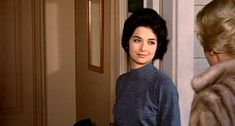 """""""I just put some coffee on the stove...don't they ever stop migrating?"""" -Suzanne Pleshette in The Birds"""