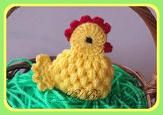 Handmade Egg Cosy / Warmer Crochet Easter Chicken / Chicks / Hen | eBay