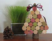 christmas wine cork tree