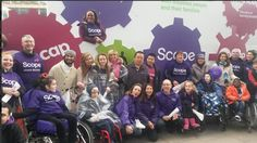 This weekend we were proud to be part of the Lord Mayor's Show in London. This year Scope and Mencap are the beneficiary charities of the Lord Mayor's Appeal and here's a snap of our amazing float and volunteers!