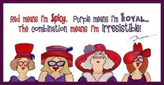 february parties for red hat society | If you would like to join us for fun, friendship and fulfilment just ...