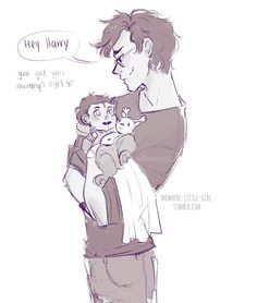 james potter and baby harry by nowhere-little-girl tumblr