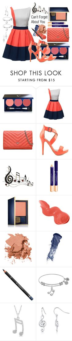 """""""Nas f/Chrisette Michele- Cant Forget About You"""" by texasradiance ❤ liked on Polyvore featuring Vapour Organic Beauty, Lattori, Botkier, Michael Antonio, Music Notes, By Terry, Estée Lauder, Bobbi Brown Cosmetics, Givenchy and Allurez"""