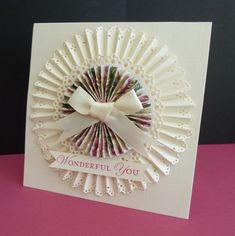 Wonderful You by sistersandie - Cards and Paper Crafts at Splitcoaststampers