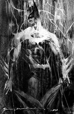 Batman por Bill Sienkiewicz