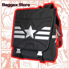 Captain America Youth Backpack School Marvel Rucksack Teenager Daypack Book Bag  #BaggexStore #Backpack