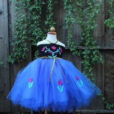 Frozen Anna Dress Custom Made Anna Wedding Dress by BloomsNBugs