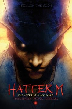 Hatter M.. by the same author that wrote the looking glass wars  COMICS! But...it ties in, so that kinda count?