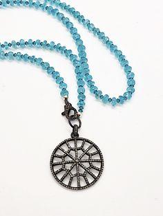 3rd Eye, Spiritual Jewelry, Chakra Healing, Yin Yang, Washer Necklace, Fine Jewelry, Gemstones, Diamond, Pendants