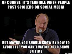 spoilers on facebook