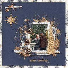 Holiday Memories #seasonssparkles #merrychristmas #designerdigitals #digitalscrapbookpages