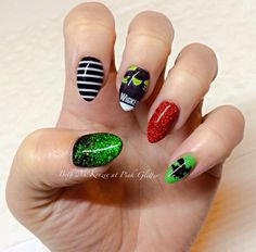 Wicked nail art nail art by pink glitter pinterest wicked wicked nails prinsesfo Choice Image