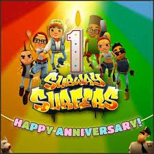 subway surfers one year