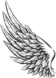 Tattoos for men and women wings tatuajes de alas de angel, t Tattoo Sketches, Tattoo Drawings, Body Art Tattoos, New Tattoos, Sleeve Tattoos, Tattoos For Guys, Tattoo Art, Wrist Tattoos, Celtic Tattoos