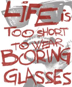 No. Life is too short to worry about wearing glasses at all... | #Lasik