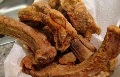 Deep Fried Spicy Ribs