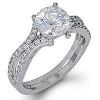Simon G DR351 0.41ctw Diamond Engagement Ring Setting