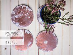 Diy con mármol y cobre