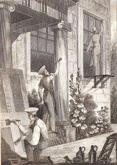 Milk paint: a short history (Lost Art Press) Milk Paint Recipes, House Painter, Georgian Era, Victorian Costume, Regency Era, Lost Art, Built Environment, Book Design, Literature