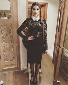 Sonam Kapoor in Dolce & Gabbana Halloween outfit