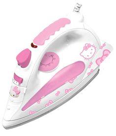 Hello Kitty iron: Not that I would iron anything! Hello Kitty Rooms, Hello Kitty Kitchen, Hello Kitty House, Sanrio Hello Kitty, Here Kitty Kitty, Hello Kitty Bathroom, Hello Kitty Collection, Everything Pink, Pink Princess